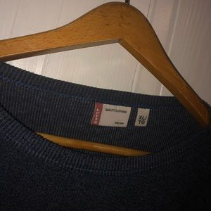 Levis dark blue long sleeve